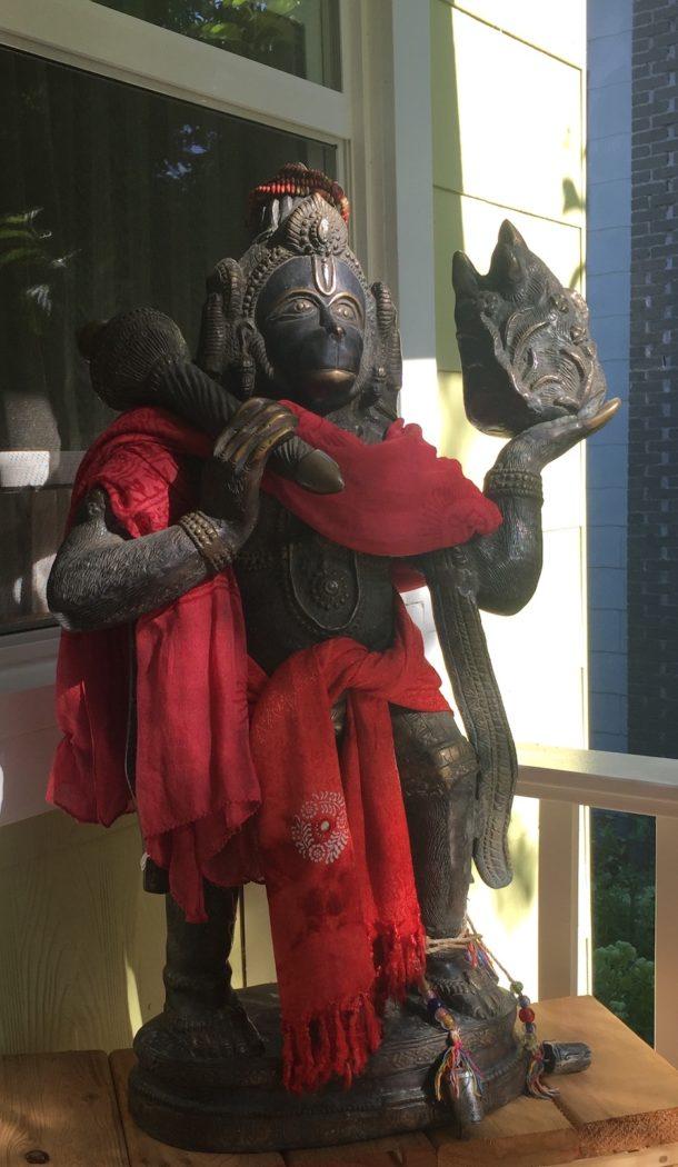 Hanuman in morning light