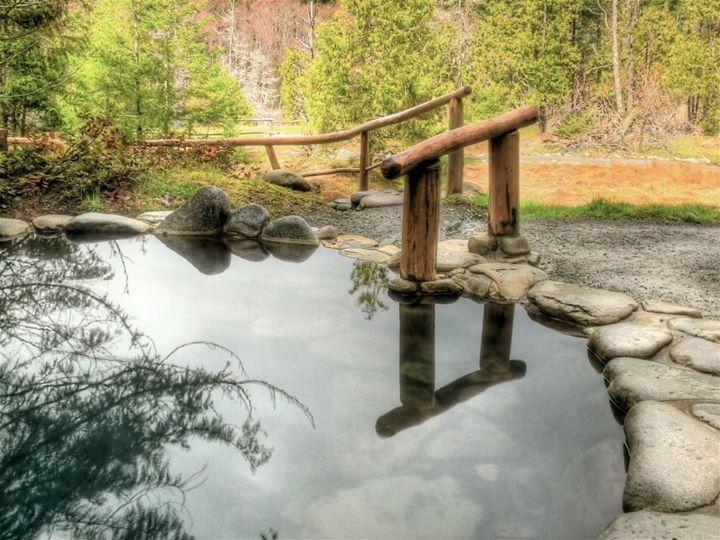 Meadow pool at Breitenbush