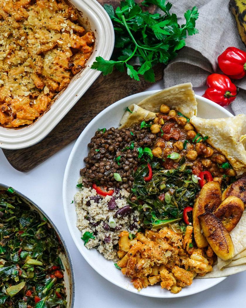 vegan caribbean feast